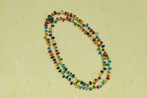 Multi-colored Glass Necklace