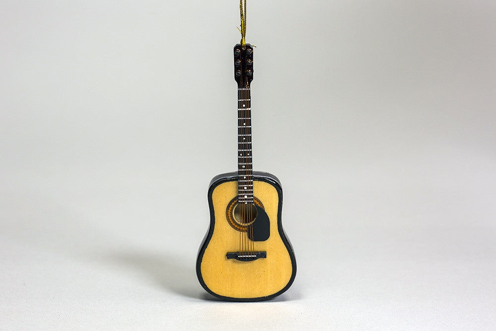 Guitar with Pick-Guard Ornament
