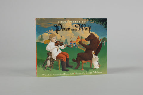 Sergei Prokofiev's Peter and the Wolf Book with CD