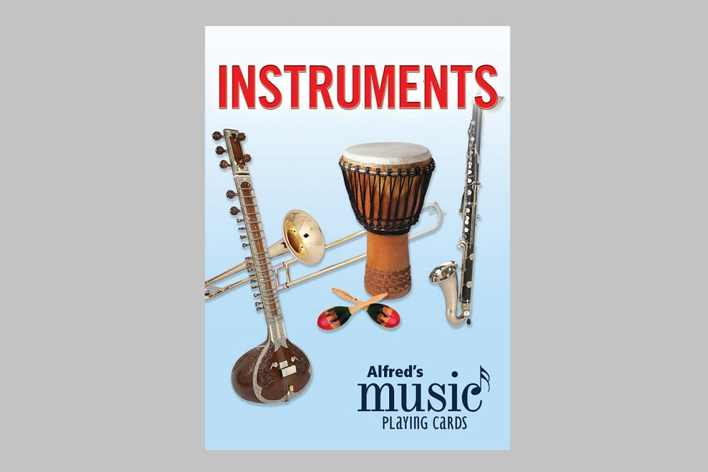 Instruments Playing Cards