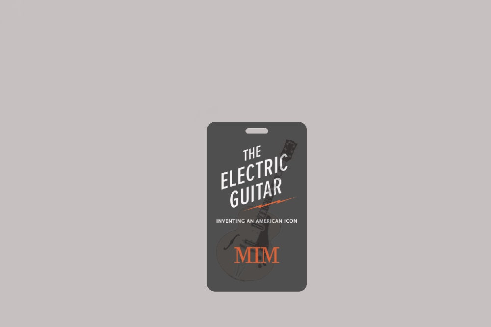 Electric Guitar Lenticular Bag Tag