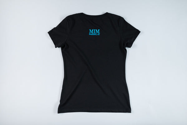 MIM Women's Quotes V-Neck        T-Shirt