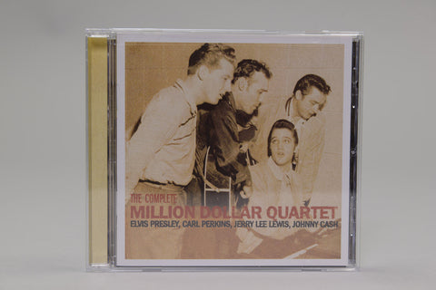 The Complete Million Dollar Quartet: Elvis Presley, Carl Perkins, Jerry Lee Lewis, Johnny Cash