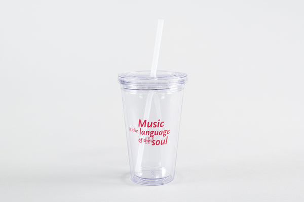 MIM Tumbler with Straw
