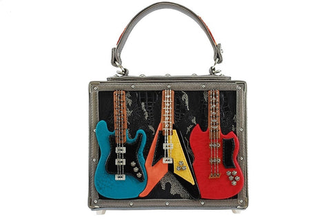 Rock Band Guitar Purse