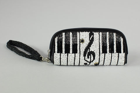 Mary Frances Piano Wristlet