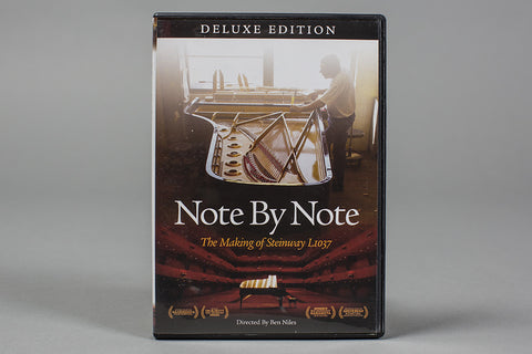 Note by Note: the Making of Steinway L1037 (DVD)