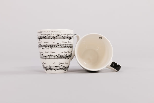 Music Mug Set of Two in Gift Box