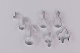 Musical Cookie Cutter Set