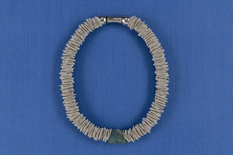 Piano Wire with Fluorite