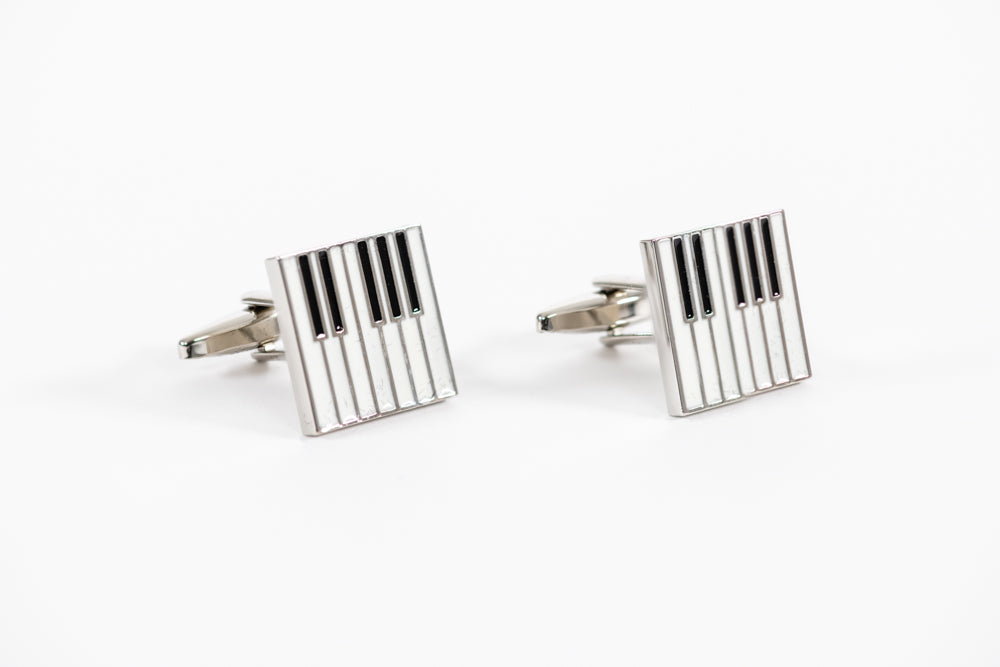 Piano Key Cufflinks