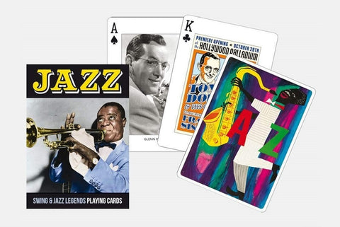 Jazz Legends Playing Cards