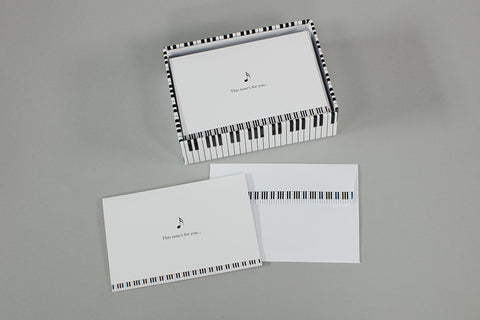 Piano Note Card Set