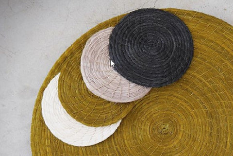 Sisal Coaster Set from Swaziland