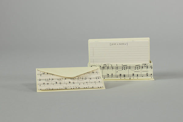 Music Note Card Set