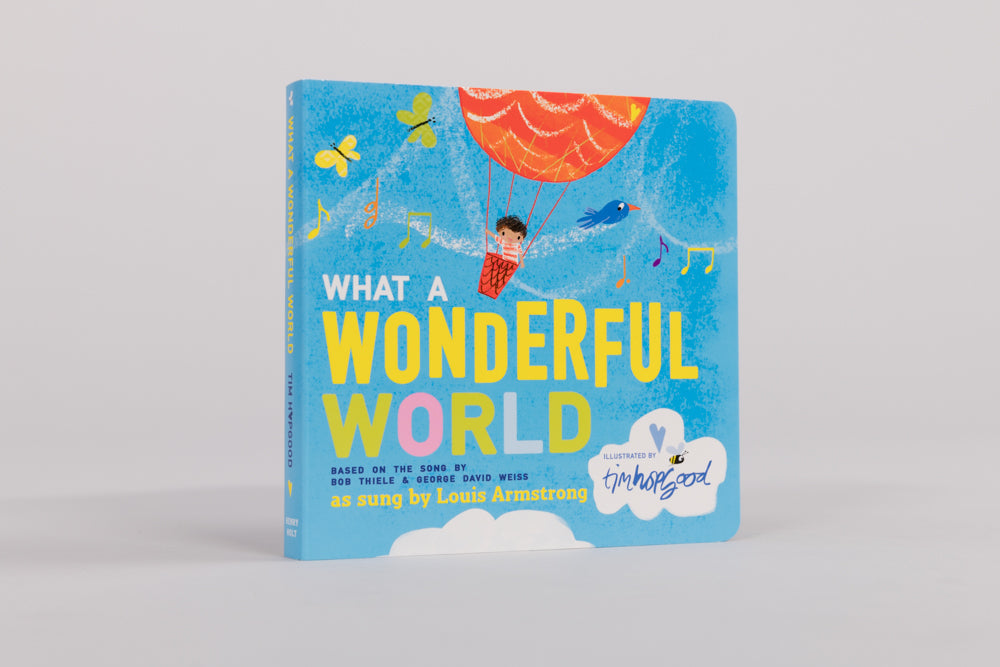 What a Wonderful World Board Book