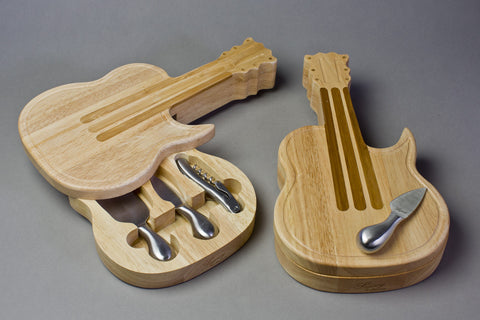Guitar Cheese Set