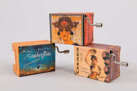 Hand-Crank Music Boxes