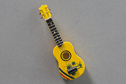 Tropical Ukulele Magnet