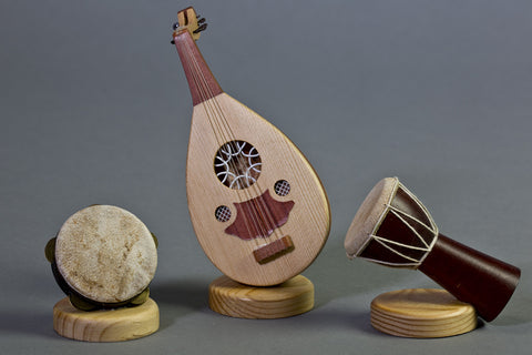 Middle Eastern (Egyptian) Miniature Instruments