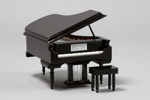 Miniature Grand-Piano Music Box