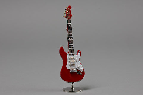 Red Electric Guitar Miniature