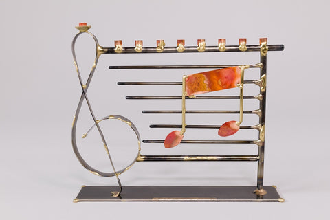 Musically Themed Menorah