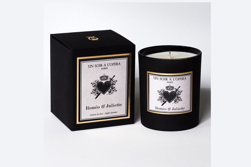 Romeo and Juliet Night Candle