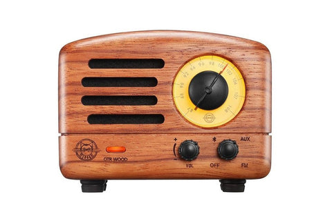 Muzen OTR Rosewood Bluetooth Speaker and Radio