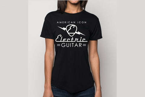 Women's Electric Guitar Pick Shirt