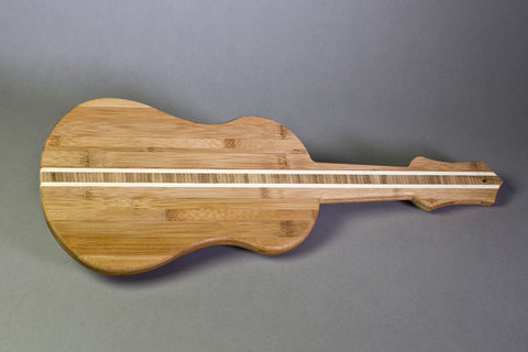 Ukulele Cutting Board