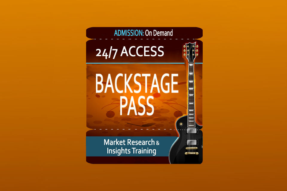 BACKSTAGE PASS ON-DEMAND (Team of 5)