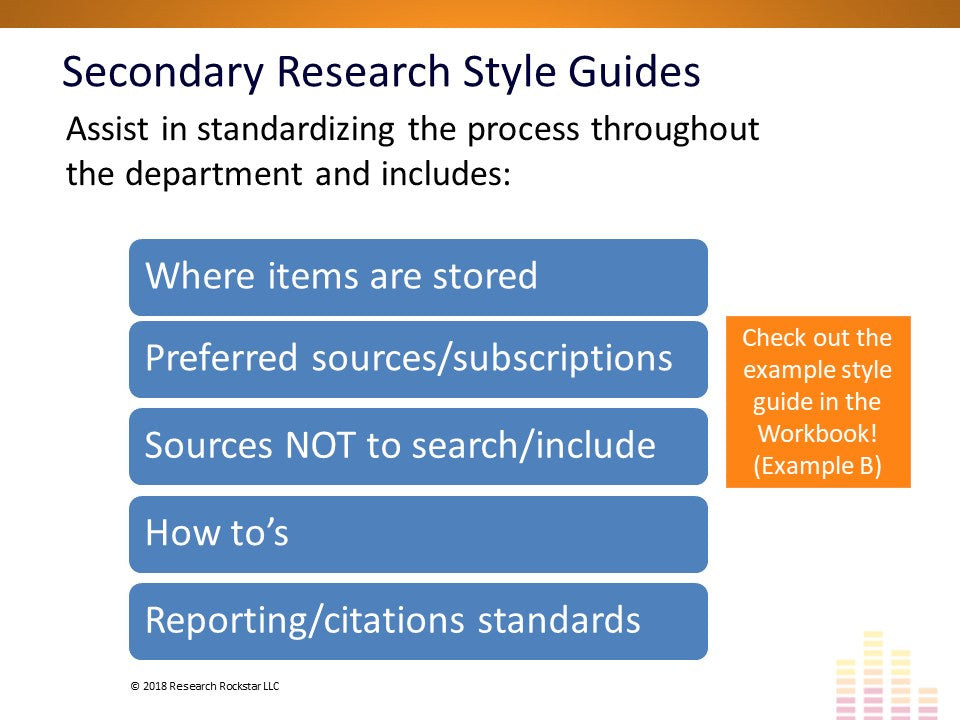 Secondary Research 101: Sources & Techniques