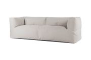 "BRYCK 3er Loungebank ""COUCH ECOLLECTION Light grey"""