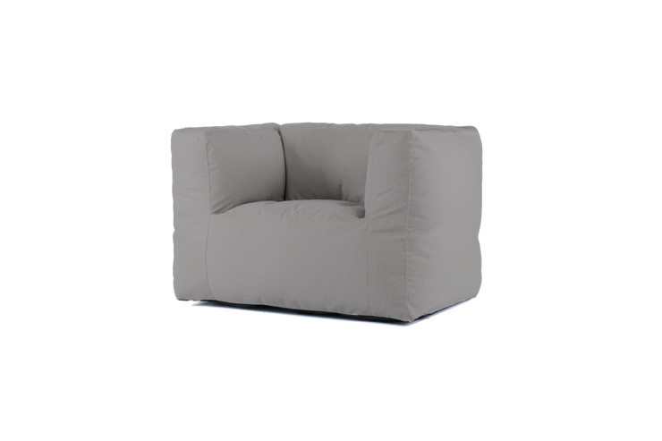 "BRYCK Loungesessel ""CHAIR SMOOTH COLLECTION Silver"""
