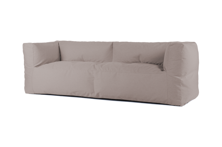 "BRYCK 3er Loungebank ""COUCH SMOOTH COLLECTION Light brown"""