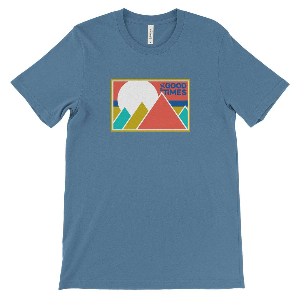 Printful Short Sleeve Shirt Steel Blue / S Rowdy Range