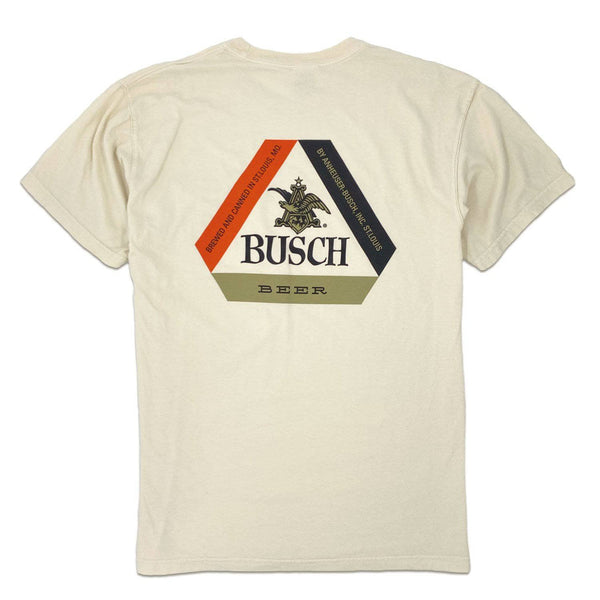 RiverCity Sportswear Short Sleeve Pocket Tee Small Busch Tab Top