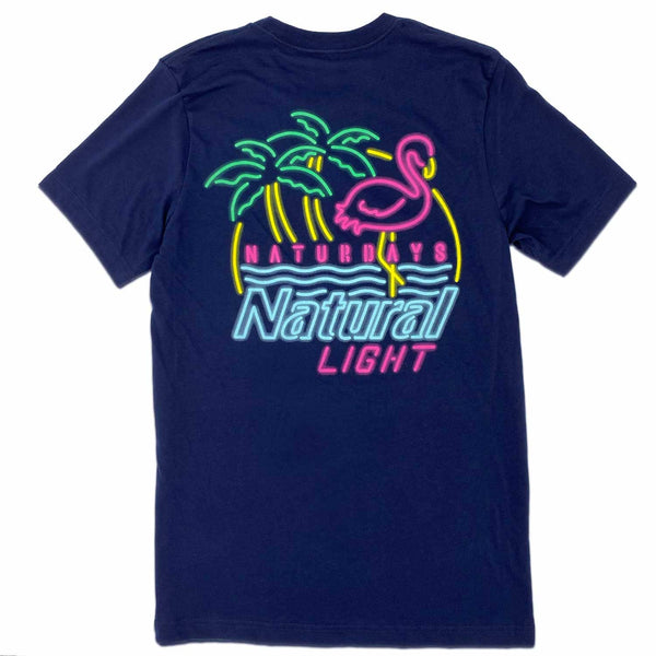 RiverCity Sportswear Short Sleeve Shirt Small Naturdays Neon