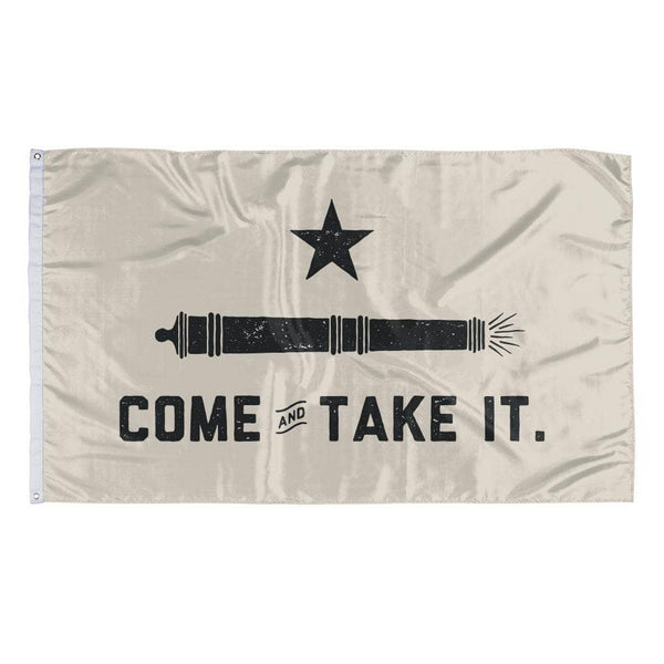 Rowdy Gentleman 3' x 5' Flag Come And Take It