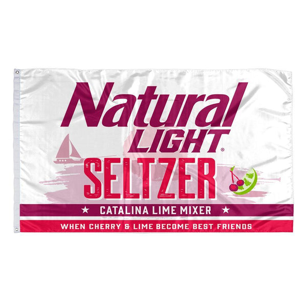 Rowdy Gentleman 3' x 5' Flag Flag Natty Seltzer - Catalina Lime Mixer