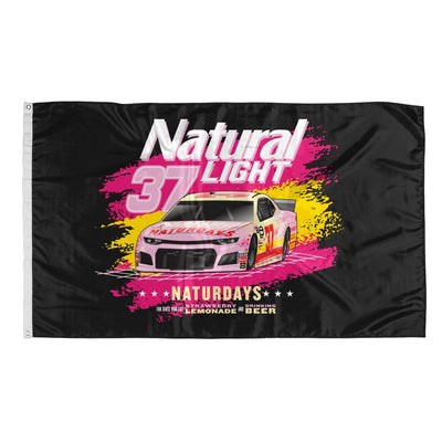 Rowdy Gentleman 3' x 5' Flag Flag Naturdays NASCAR