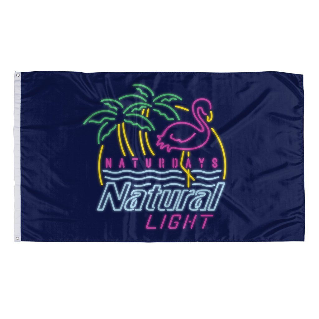 Rowdy Gentleman 3' x 5' Flag Flag Naturdays Neon