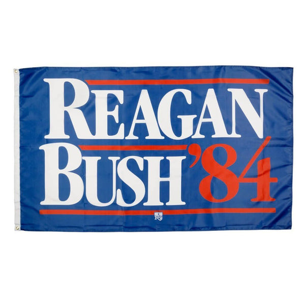 Rowdy Gentleman 3' x 5' Flag Flag Reagan Bush '84 Flag