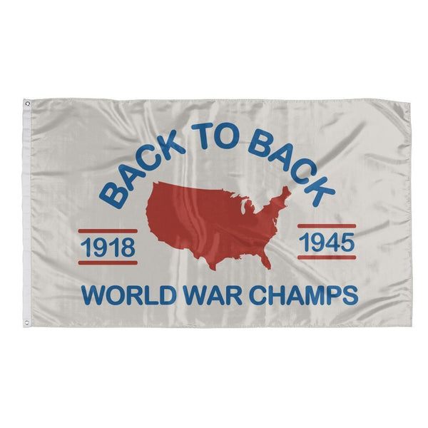Rowdy Gentleman 3' x 5' Flag Flag World War Champs
