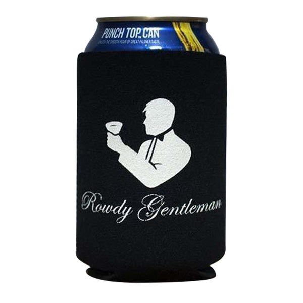 Rowdy Gentleman Beer Sleeve Beer Sleeve Toasting Man