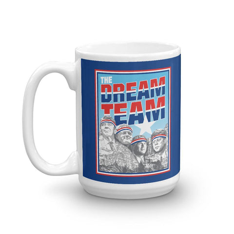 Rowdy Gentleman Coffee Mug The Dream Team