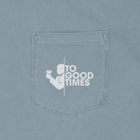Rowdy Gentleman Comfort Colors Short Sleeve Pocket Johnny Politics