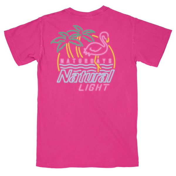 Rowdy Gentleman Comfort Colors Short Sleeve Pocket Naturdays Neon