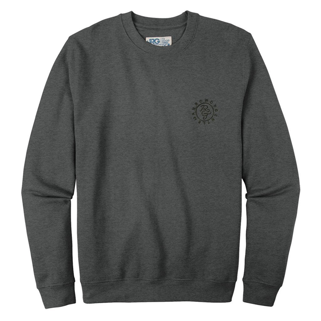 Rowdy Gentleman Crewneck Sweatshirt Ranch Monogram